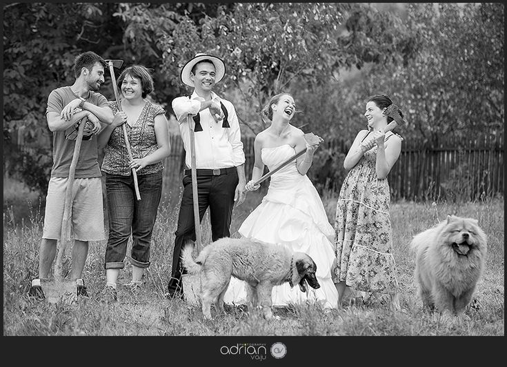Trash the dress at the country :)