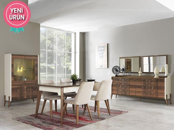 Zartega Modern Yemek Odası sadeliğini ve şıklığını evinize yansıtıyor!     #Modern #Furniture #Mobilya #Pırlanta #Yemek #Odası #Sönmez #Home #EnGüzelAnlara #YeniSezon #Praga #YemekOdası #Home #HomeDesign  #Design #Decoration #Ev #Evlilik #Wedding #Çeyiz #Konfor #Rahat #Renk #Salon #Mobilya #Çeyiz  #Kumaş #Stil #Tasarım #Furniture #Tarz #Dekorasyon #Vitrin
