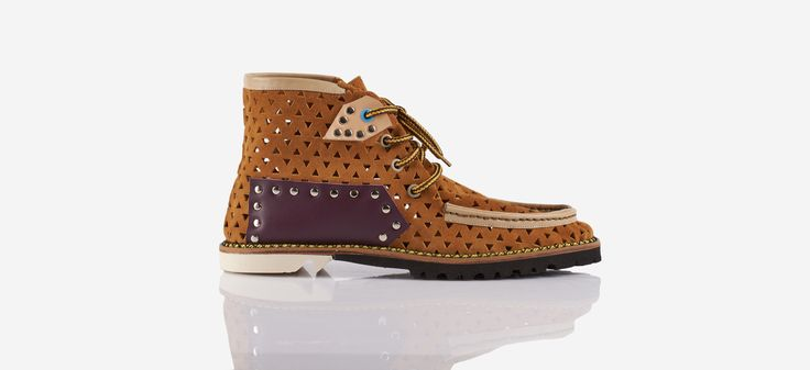 ''Essaouira'' summer boot with Vibram sole