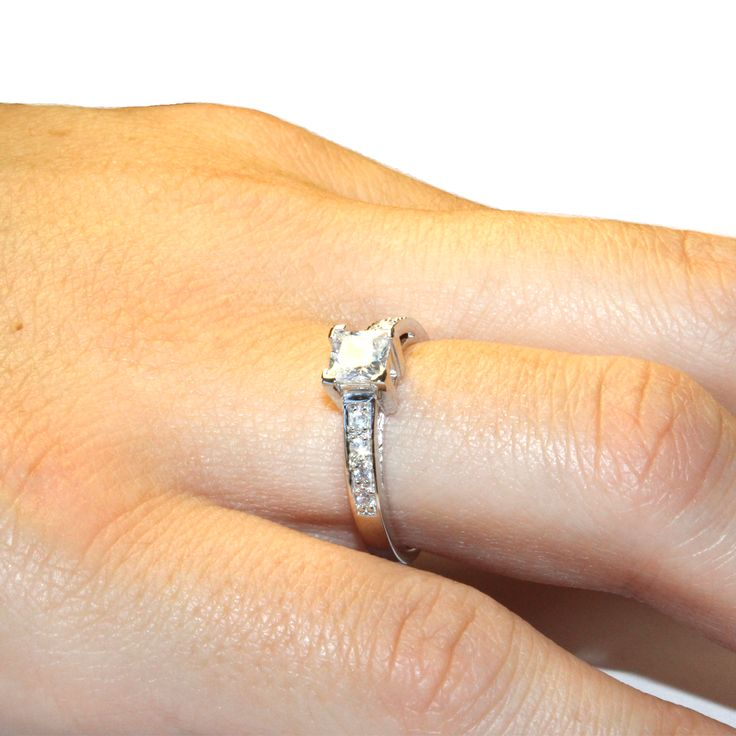 10 best Princess Cut Promise Rings images on Pinterest ...