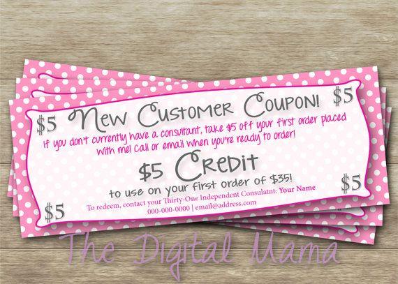 Thirty-One New Customer Coupon Thirty-One Mini by TheDigitalMama