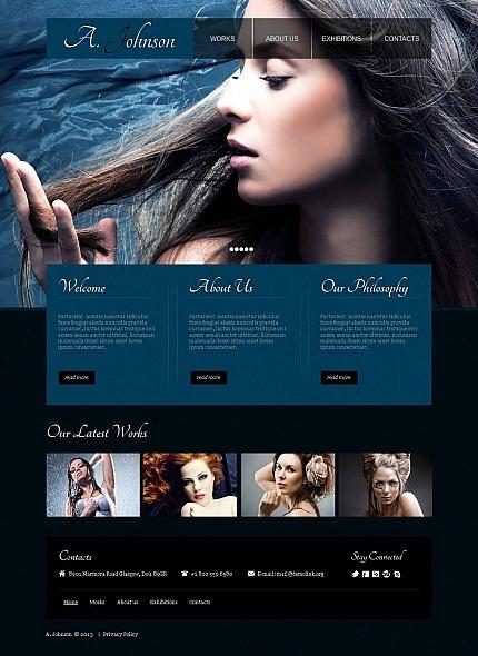 Photographer Portfolio Moto CMS HTML Template  #photo #gallery #website http://www.templatemonster.com/moto-cms-html-templates/44451.html?utm_source=pinterest&utm_medium=timeline&utm_campaign=photo
