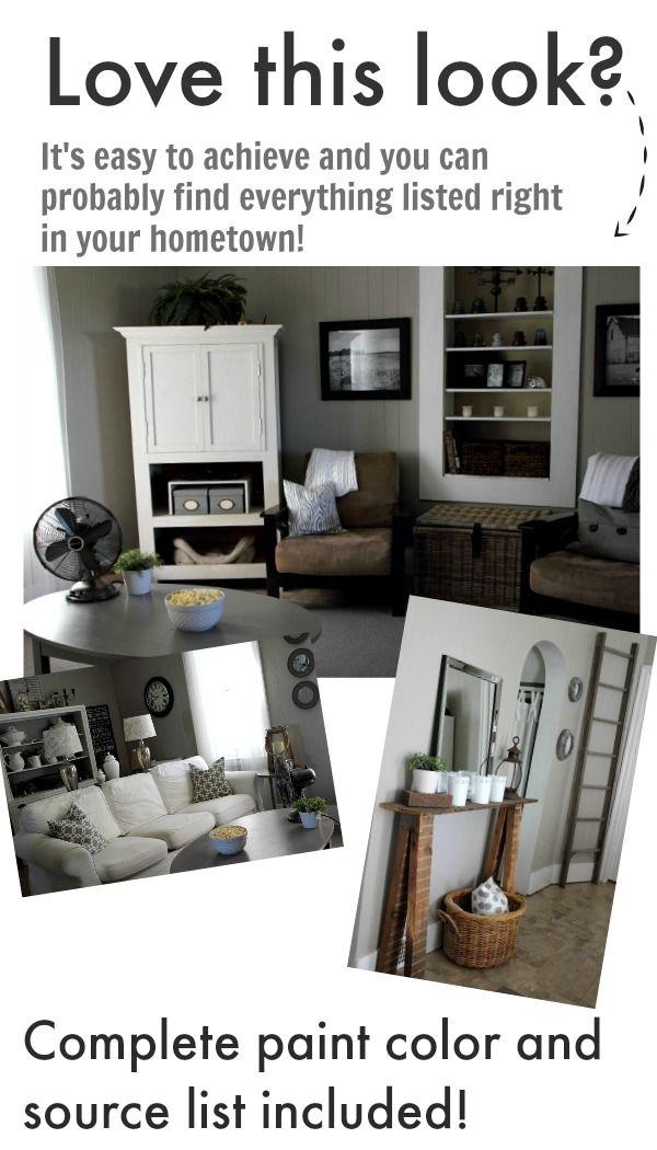 The Natural Side Of 3 Neutral Color Living Room Designs: 168 Best Living Room & Sitting Nooks Images On Pinterest