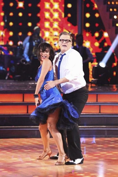 """Cheryl Burke & Drew Carey jive to The Dovells' """"You Can't Sit Down""""  -   Dancing With the Stars   -  week 2  -  season 18     -   Mar. 31, 2014  -  Video"""