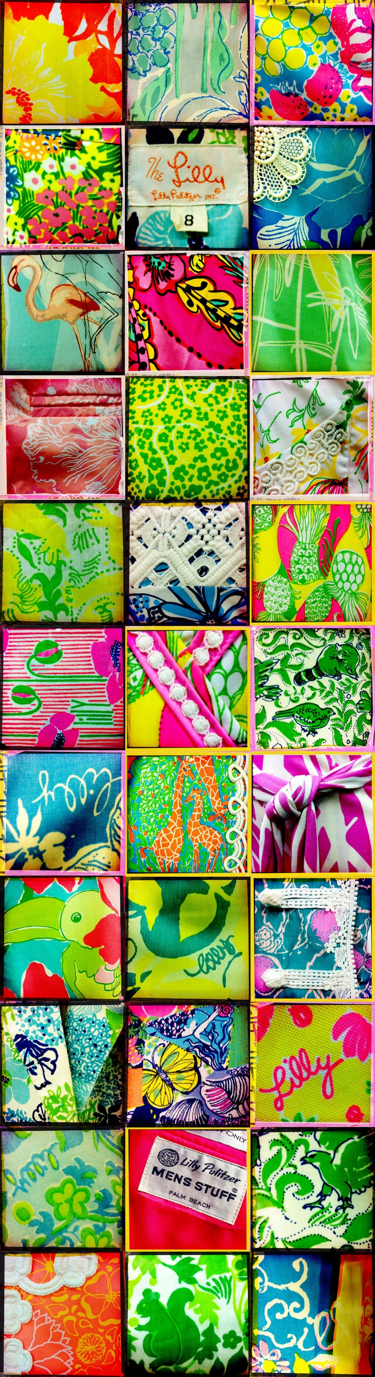 These are some really great Vintage Lilly Pulitzer patterns! #vintage #lilly #rip