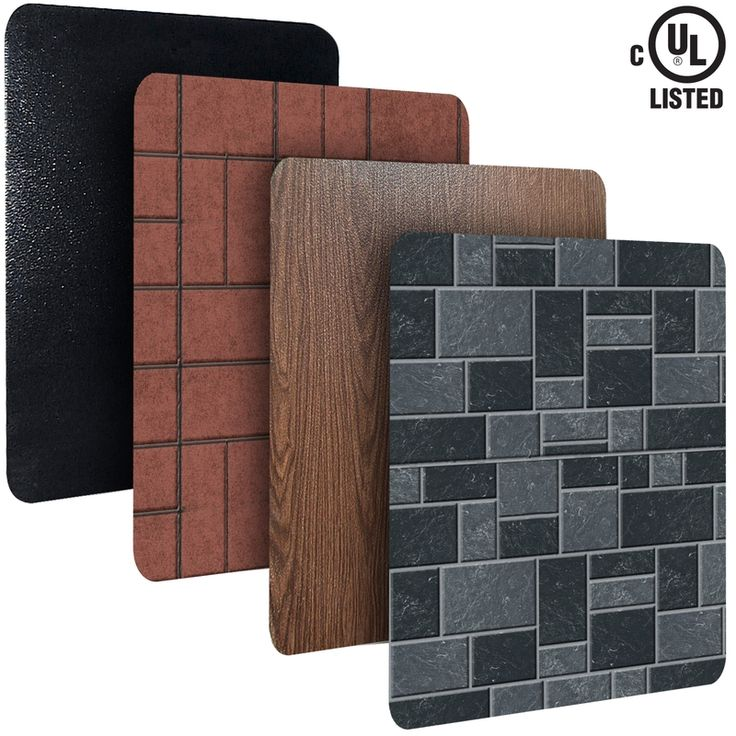 wood stove accessories heat shields | imperial stove boards protect walls and floors from the intense