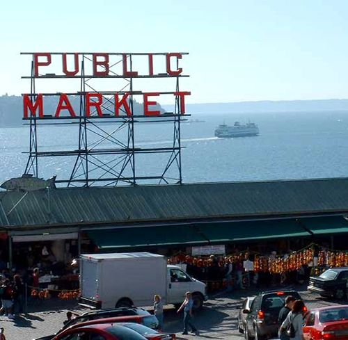 We get to work just blocks from Pike Place Market.