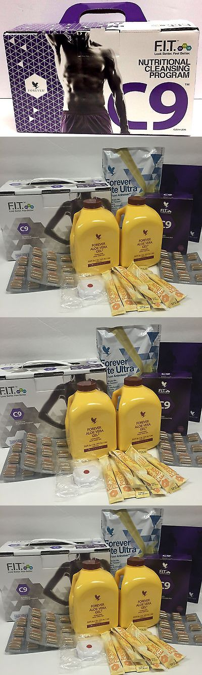 Meal Replacement Drinks: Clean 9 Forever Living Aloe Vera F.I.T Detox Program Vanilla Desintoxicación C9 -> BUY IT NOW ONLY: $94.95 on eBay!