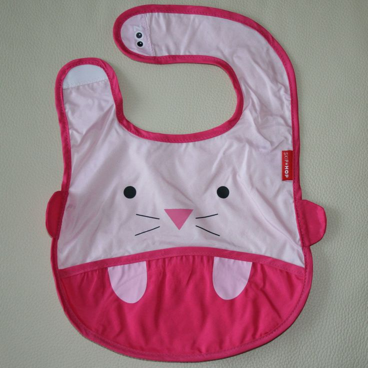 NEW Baby Infant Toddler Feeding Waterproof Bibs SKIP HOP Mouse