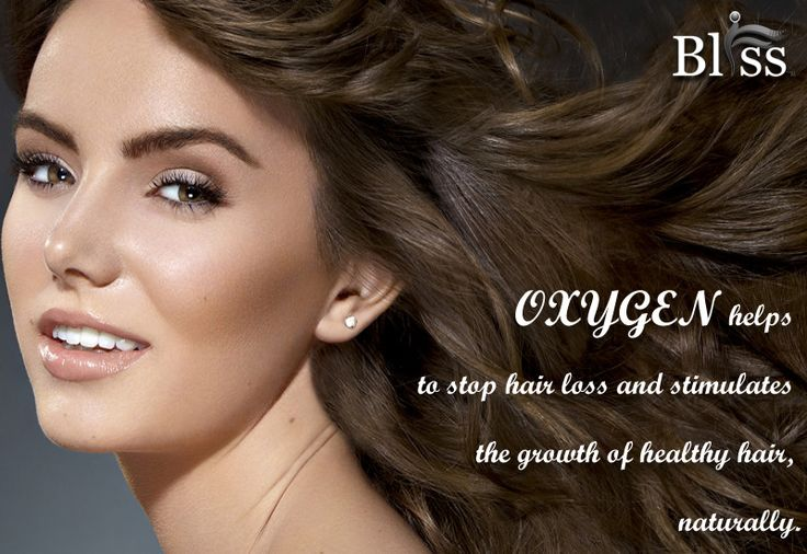 Oxygen helps  to stop hair loss and stimulates  the growth of healthy hair,  naturally. www.blisso2bar.com