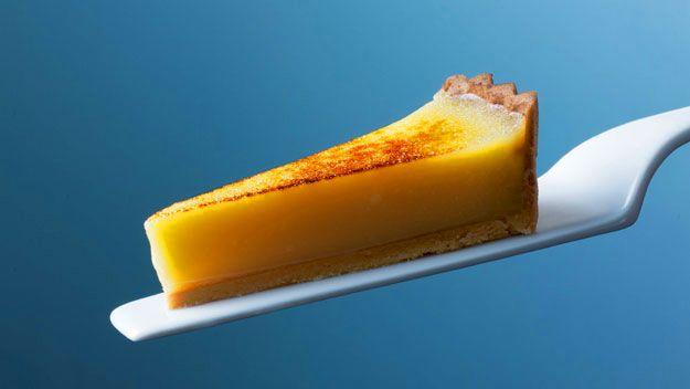 Heston Blumenthal's lemon tart recipe.