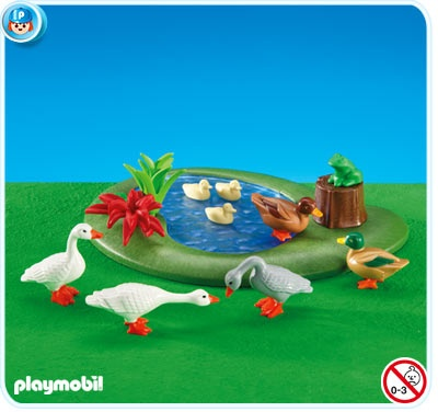 Plastic Christmas Cake Decorations Tesco : Playmoibl Duck Pond with Geese USD7.99 Christmas ...