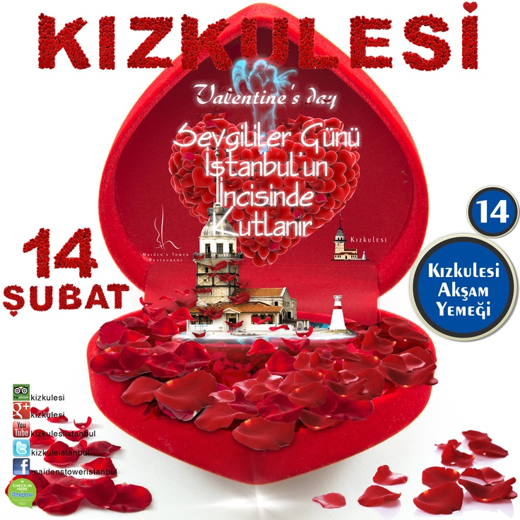 Kizkulesi'nde Sevgililer Günü Akşam Yemeği Menu  Valentine's Day Dinner menu    #kizkulesi #maidenstower #sevgililergünü #valentinesday #istanbul #turkey  #travel #restaurants #tourism #love #aşk #winter #picoftheday #instagram #instamood #instagood