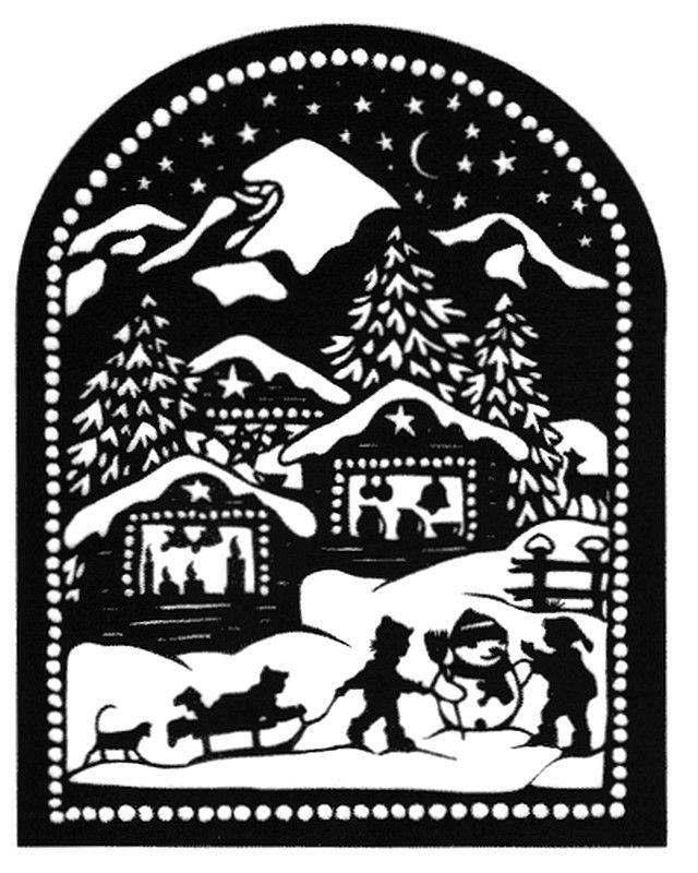 Esther Gerber —  Children in the Snow  (640x800)