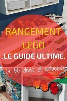 Rangement LEGO : LE Guide Ultime (+ 50 idées et astuces) http://www.homelisty.com/rangement-lego/