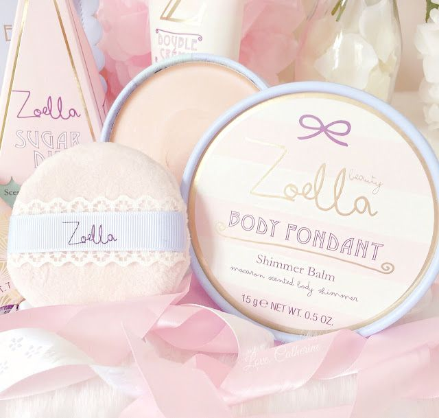 Zoella Beauty | Sweet Inspirations Collection, Body Fondant www.lovecatherine.co.uk www.instagram.com/catherine.mw