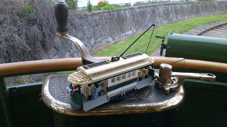My tram with its inspiration at Ferrymead http://www.flickr.com/photos/42922809@N03/30531452165/