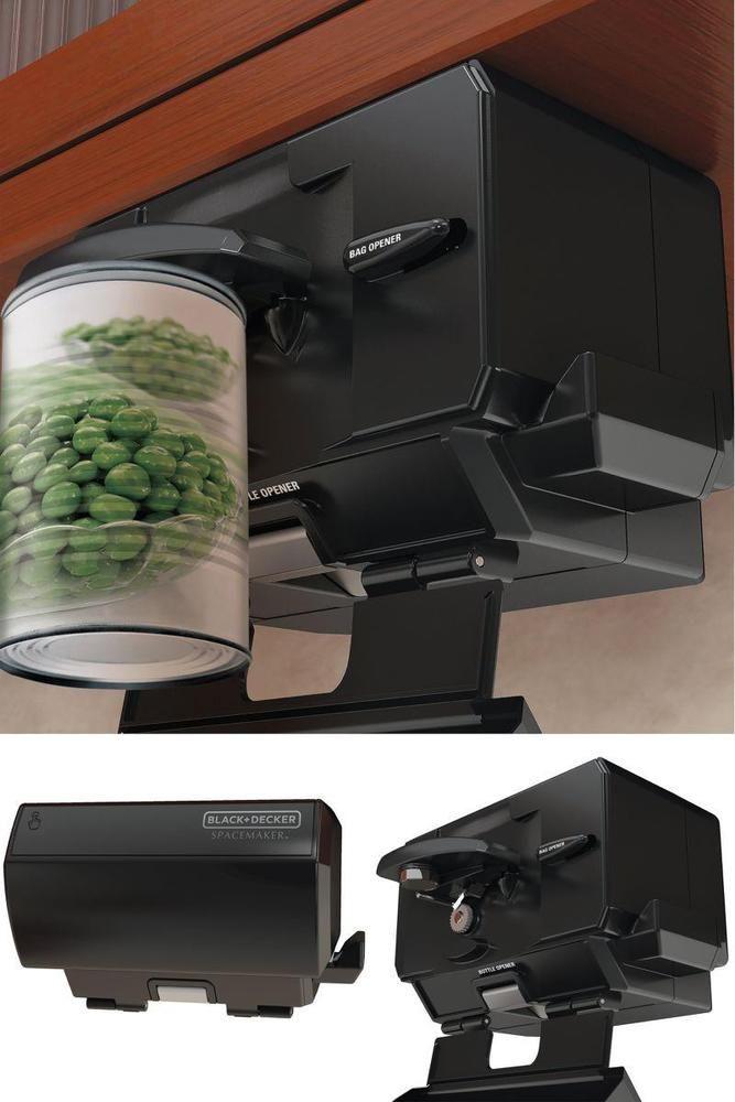 Surprising Under Cabinet Electric Can Opener Multi Purpose Kitchen Interior Design Ideas Apansoteloinfo