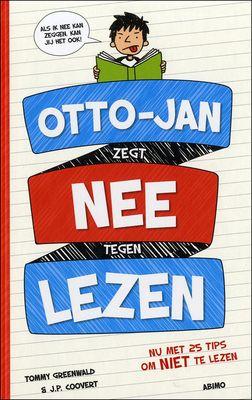 #Otto-Jan houdt absoluut niet van lezen. En tot nu toe is hij er erg goed in geslaagd zijn leven lees-vrij te houden. Maar nu hij op de middelbare school zit, is lezen ontwijken niet meer zo eenvoudig als het vroeger was. Als zijn vriend Timmy beslist Otto-Jans boekbesprekingen niet meer in zijn plaats te doen, moet Otto-Jan wel drastische maatregelen nemen om zijn perfecte record niet-lezen in stand te houden.