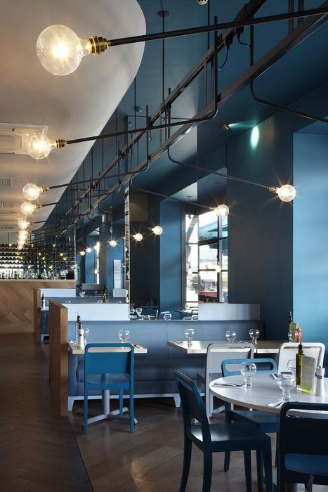 ASK Italian (London, UK) | Gundry & Ducker | 2012 Restaurant and Bar Design Awards