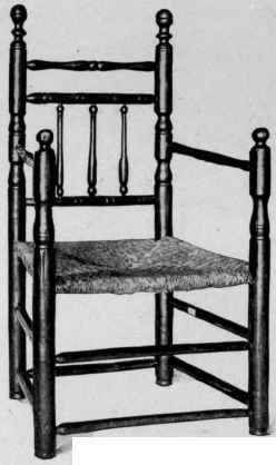 early american furniture carver chair - Google Search