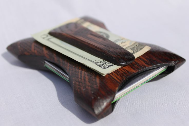 Front pocket wallet Wooden Wallet Thin Wallet The best
