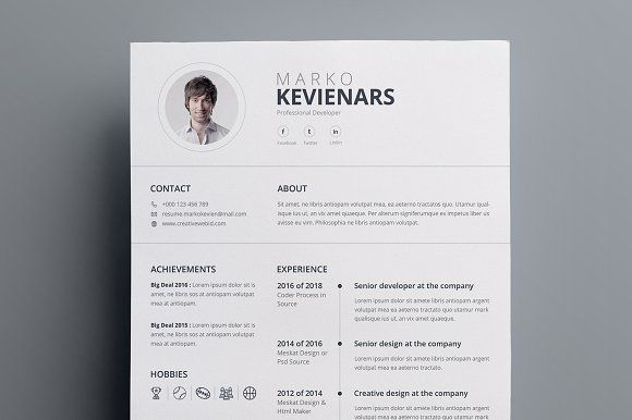 resume templates design resume creativework247 fonts graphics themes templates