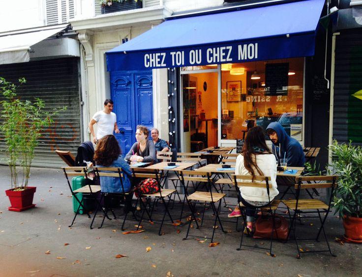 Chez Toi ou Chez Moi- 10 restaurantes de París