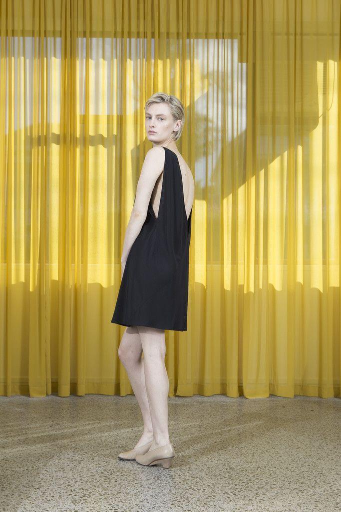 Miss Crabb - Atomic Dress Black