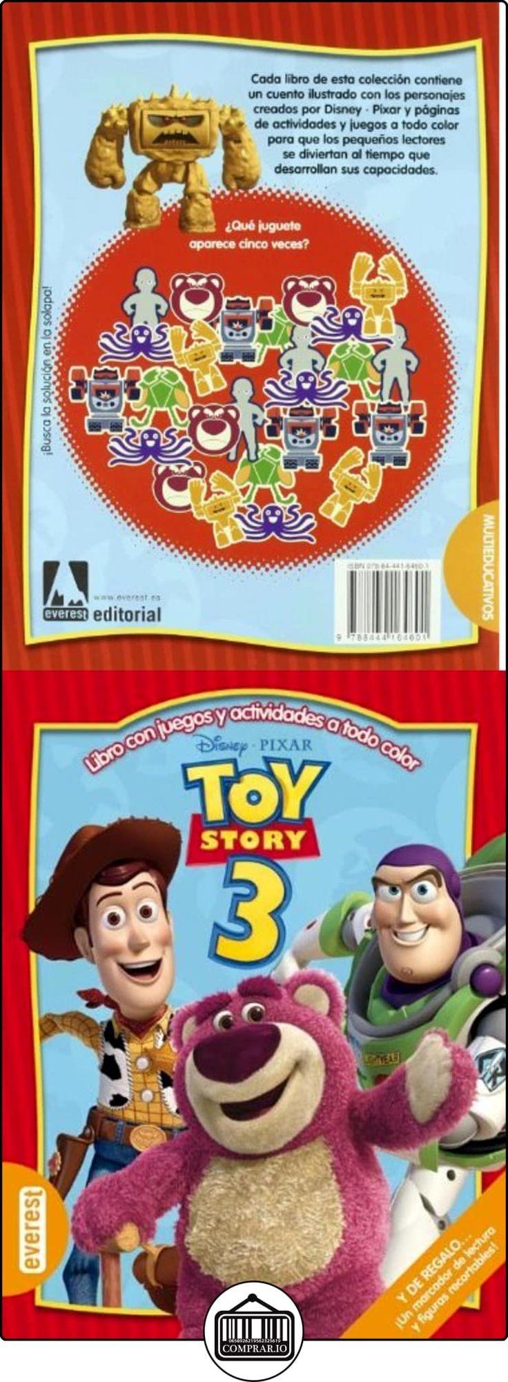 Toy Story 3.: Libro con juegos y actividades a todo color (Multieducativos Disney) Walt Disney Company ✿ Libros infantiles y juveniles - (De 0 a 3 años) ✿