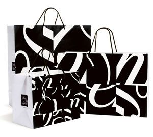 A new identity designed by Pentagram for iconic New York retailer Saks Fifth Avenue launched in 2007.