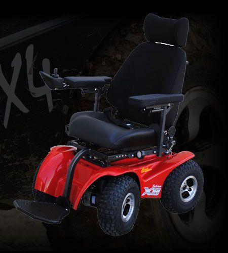 X8 extreme is a 4x4 power chair all terrain wheelchairs for All terrain motorized wheelchairs