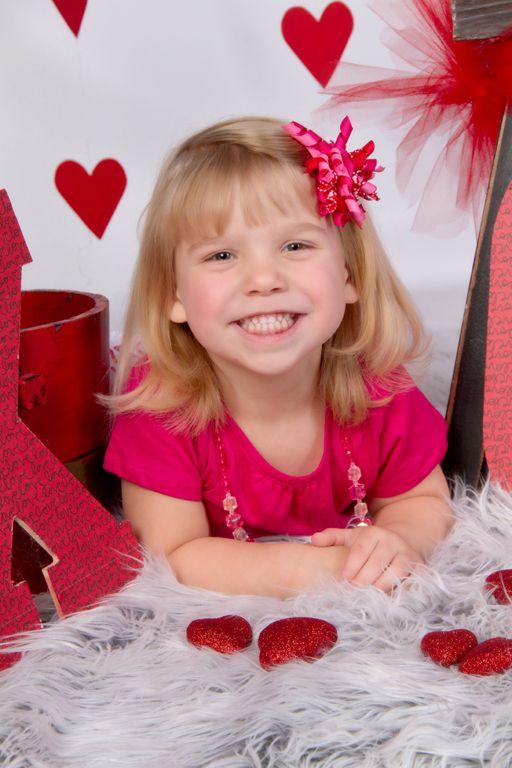 """Little Sister XOXO"" Portrait Creations Professional Valentine's Portraits- Charlotte, NC."