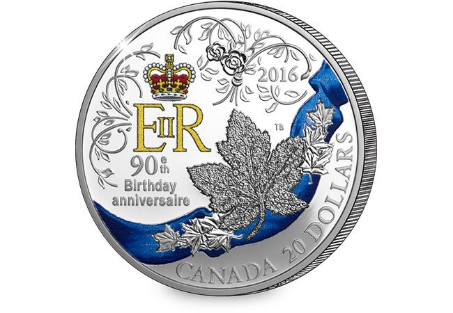 90th Birthday 1oz Silver Proof Coin
