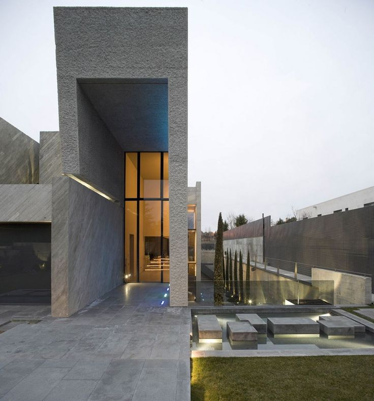 Contemporary House Entrance Design: 31 Best Images About Architectural Entrance On Pinterest