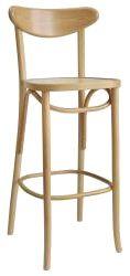 H1260 är en barstol som delvis är tillverkad med böjträteknik och kommer från Paged. I serien 1260 där finns även en stol. Båda kan väljas i flera olika träfärger. #barstolar #dialoginterior