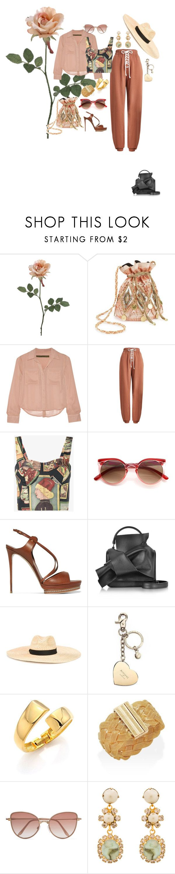 """BRUNCH!"" by hrhjustcuz ❤ liked on Polyvore featuring Miss Selfridge, Enza Costa, Puma, Simon Miller, Casadei, N°21, Dsquared2, Aspinal of London, Kenneth Jay Lane and Cutler and Gross"