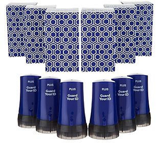 Guard Your ID 6-pc Advanced Identity Protection Roller Set