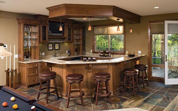 23 best ultimate wet bars images on pinterest basement for Home wet bar plans