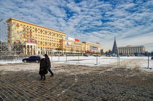 пл. Конституции. Харьков. Украина