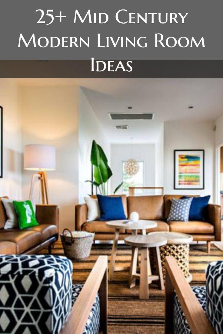 51 Mid Century Living Room Decor Ideas Mid Century Living Room