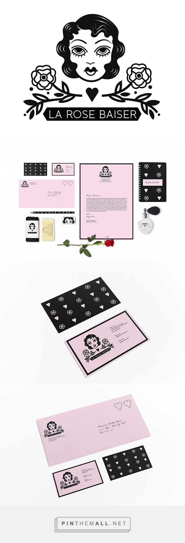 La Rose Baiser Beauty Product Branding by Sheila Vilchis | Fivestar Branding Agency – Design and Branding Agency & Curated Inspiration Gallery
