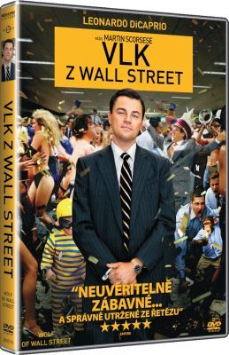 Film Vlk z Wall Street na DVD. The Wolf of Wall Street dvd.