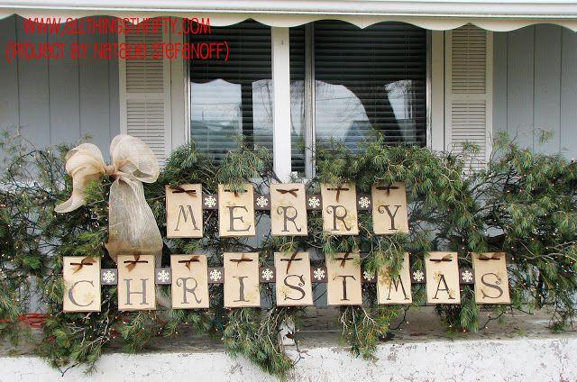 Create GINORMOUS Outdoor Christmas Decor!