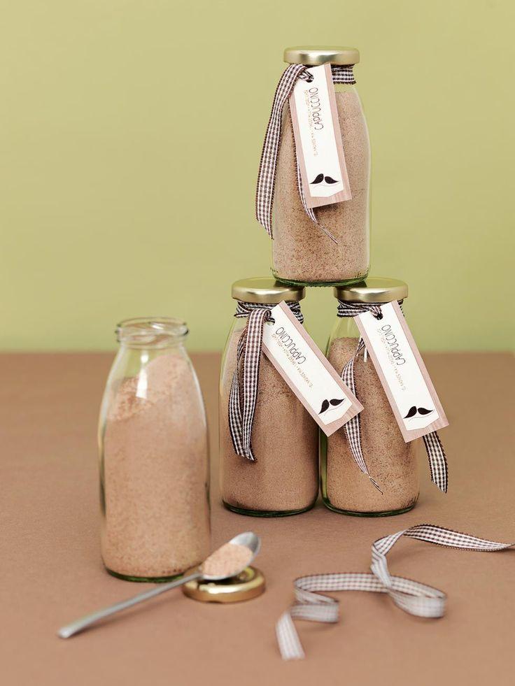 Schenkt euren Lieben etwas sehr Persönliches: Einen leckeren Cappuccino Mix. Wir haben für euch ein tolles Rezept, das wirklich gut schmeckt.