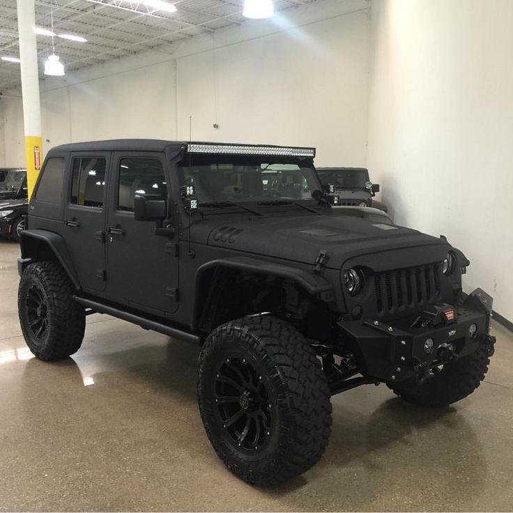 2014 Jeep Wrangler Matte Black