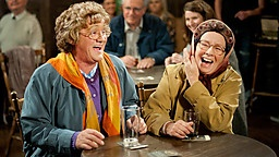Mrs Brown's Boys  -  This has to be one of the best comedy shows the BBC has brought out in years.  Especially love the ad lib bits - nothing funnier than seeing the cast trying to put one another off, or laughing so much themselves. Can't wait for series 3.