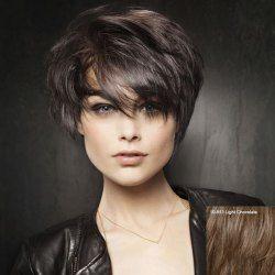SHARE & Get it FREE | Short Fluffy Side Bang Women's Outstanding Human Hair…