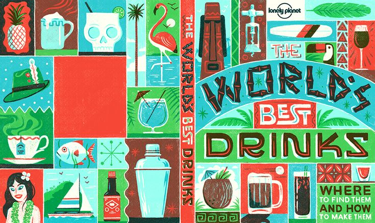 Lonely Planet on Behance