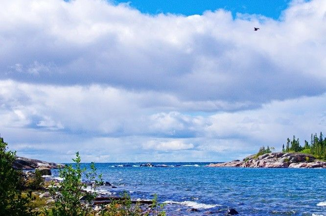 Typical Lake Superior scenery